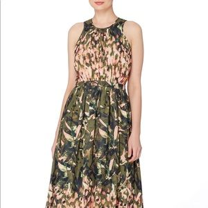 Catherine Malandrino Floral Midi Dress